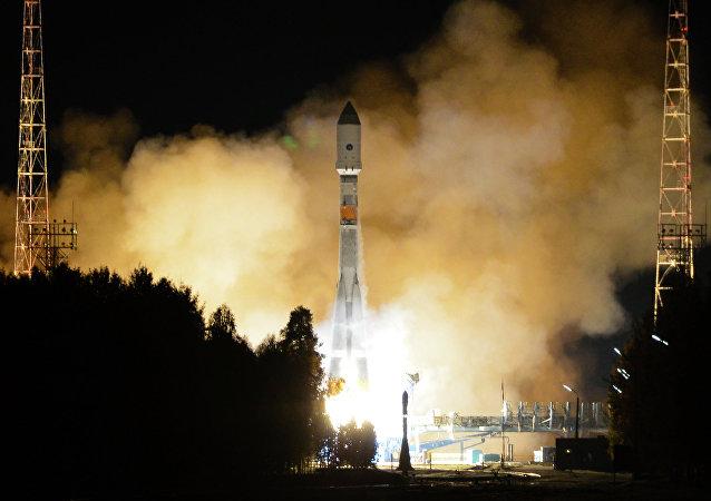 Lanzamiento de Soyuz-2.16 con Glonass-M