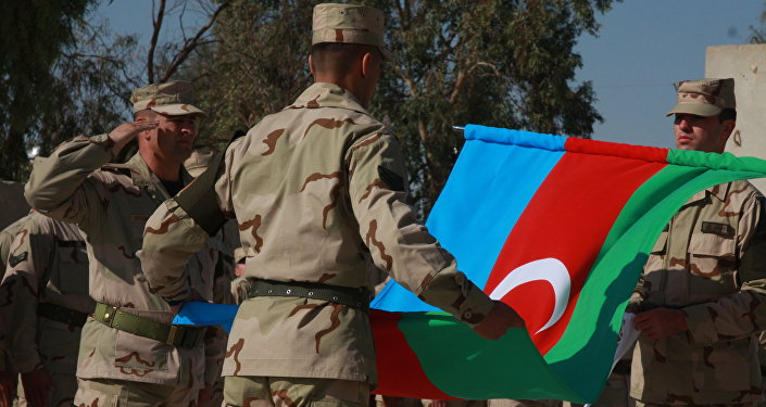 Militares azerbaiyanos (archivo)