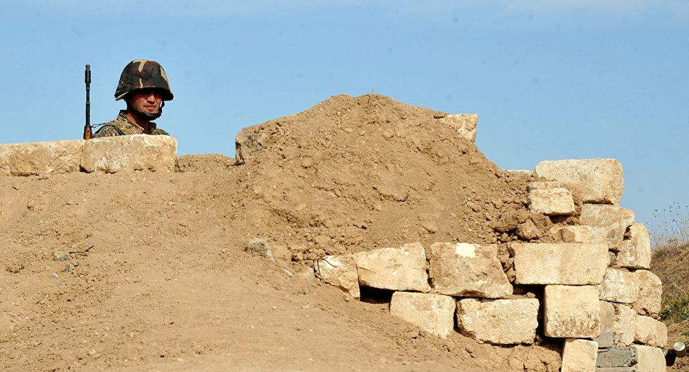 Soldado armenio (Archivo)