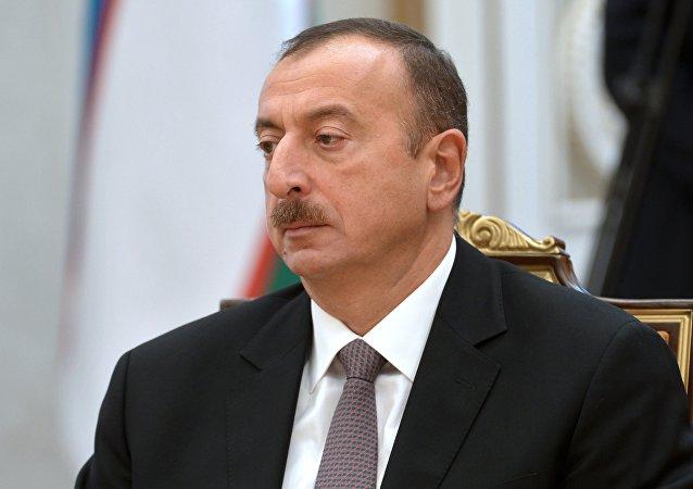 Iljam Alíev, presidente de Azerbaiyán