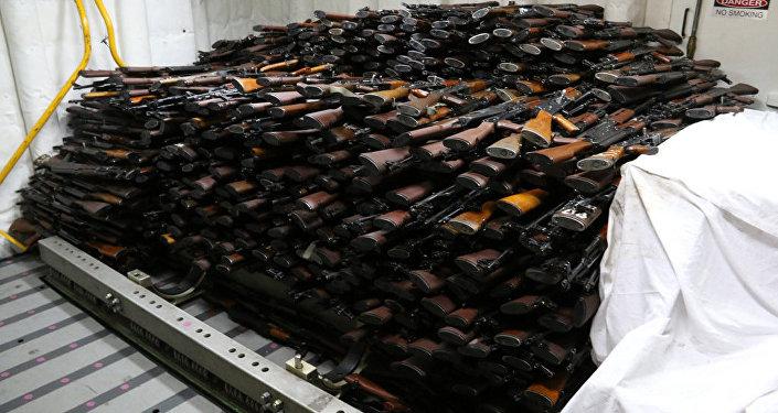 Armas confiscadas (imagen referencial)