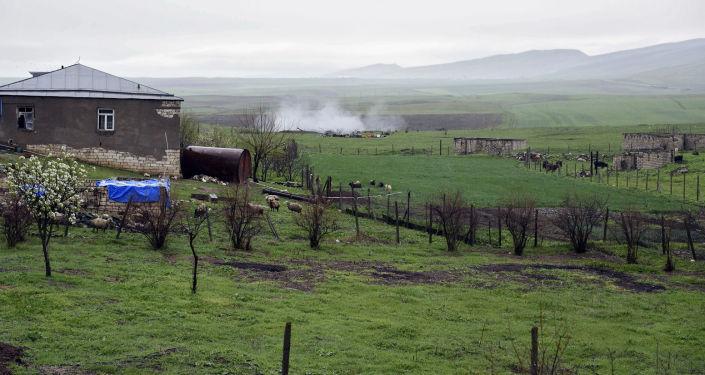 La zona de conflicto en Nagorno Karabaj