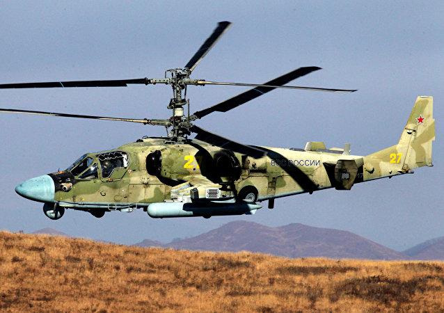 Helicóptero ruso Aligator Ka-52