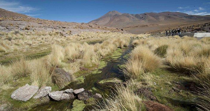 Aguas del Silala en Bolivia (archivo)