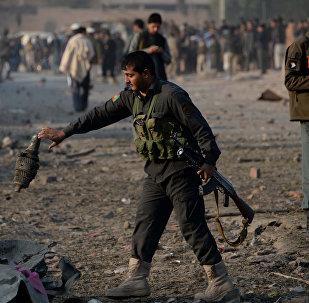 Las fuerzas de seguridad de Afganistán (archivo)