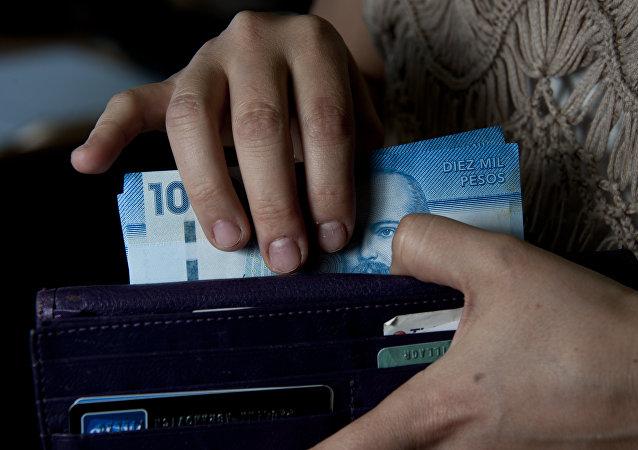 Pesos chilenos