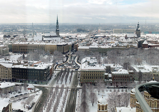 Riga, la capital de Estonia