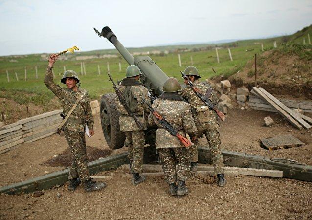 Combate en Nagorno Karabaj