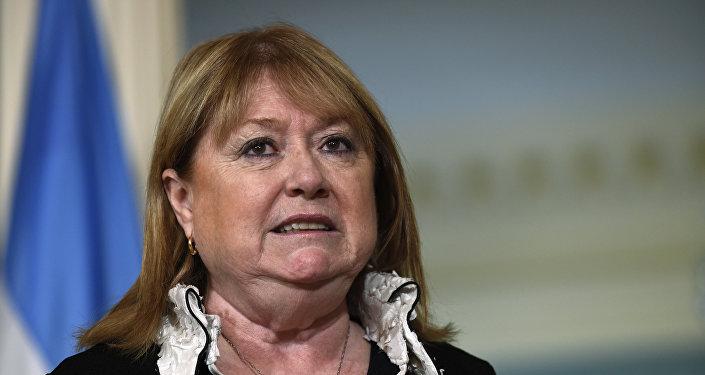 Susana Malcorra, ministra de Exteriores y Culto de Argentina