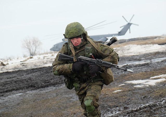 Maniobras ruso-bielorrusas (archivo)
