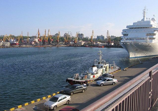 Puerto de Odesa (archivo)