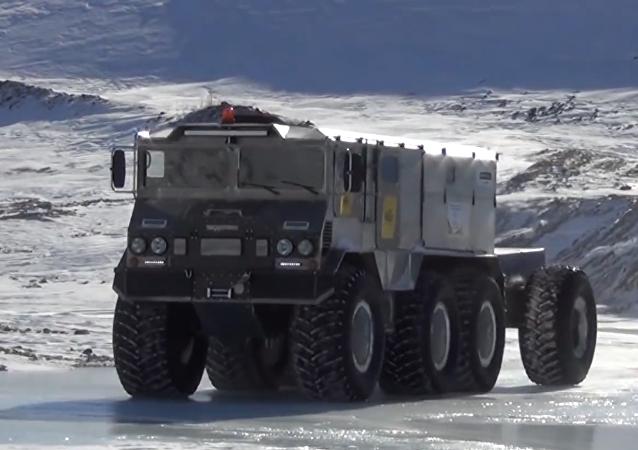 El nuevo vehículo todoterreno Burlak