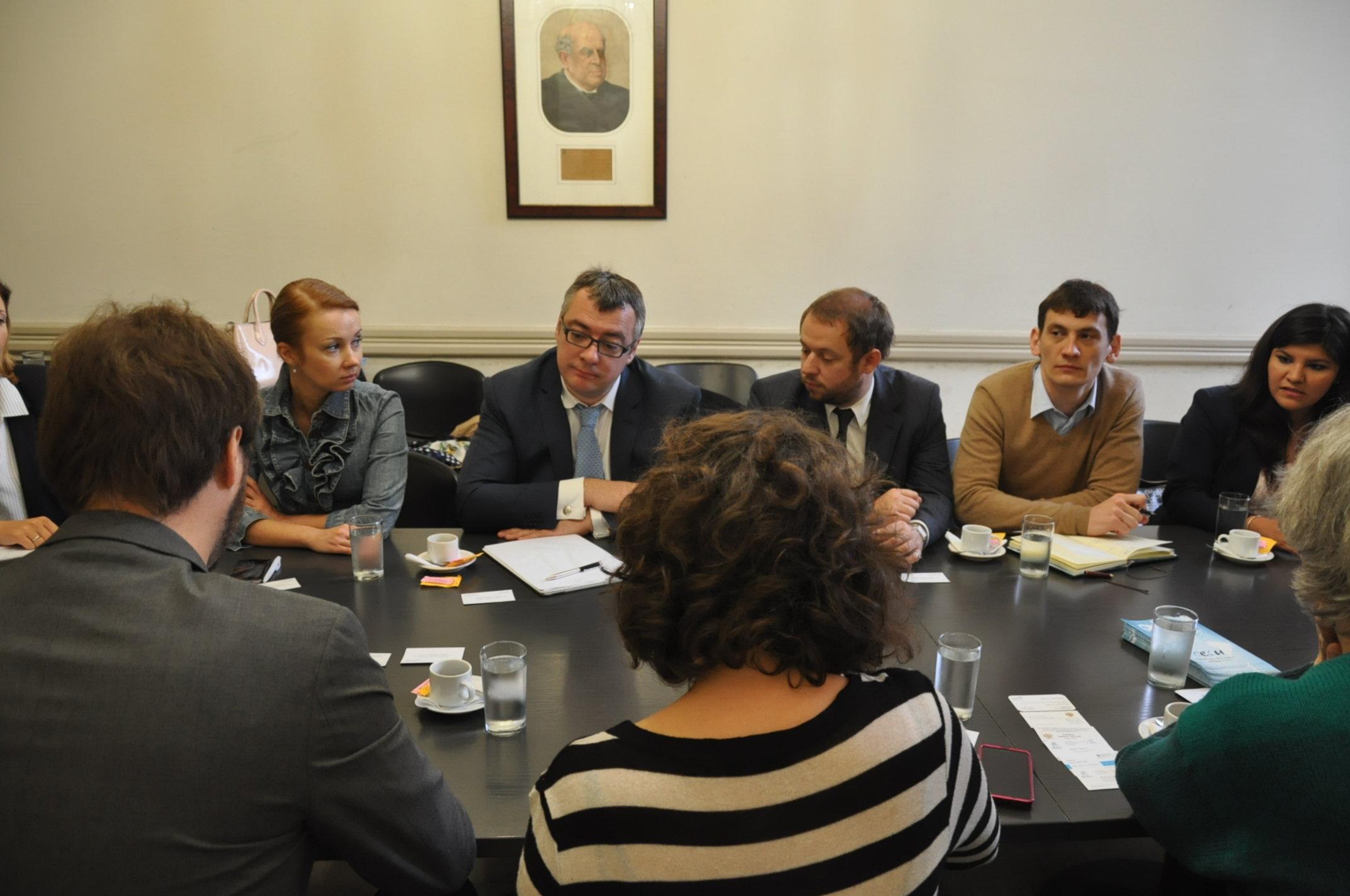 Reunión de las delegaciones de Rusia y Argentina