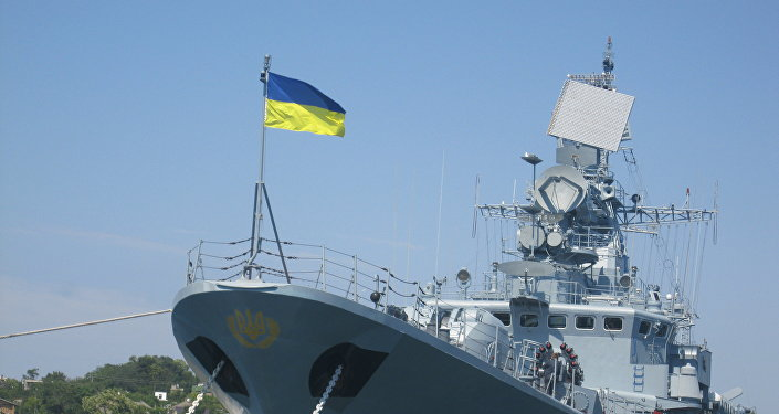 Fragata Getman Sgaydachni de la Armada de Ucrania (archivo)