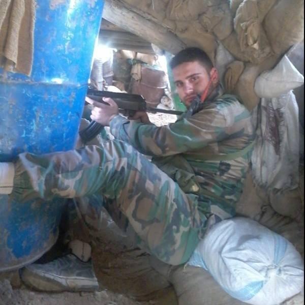 Khaled Alkhateb, soldado sirio.