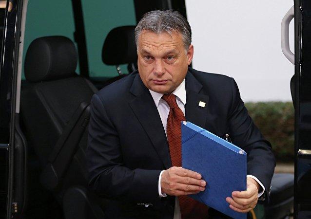 Viktor Orbán, el primer ministro de Hungría