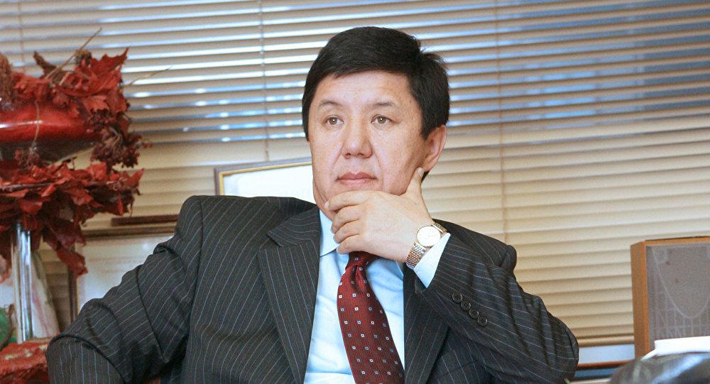 Temir Saríev, primer ministro de Kirguistán