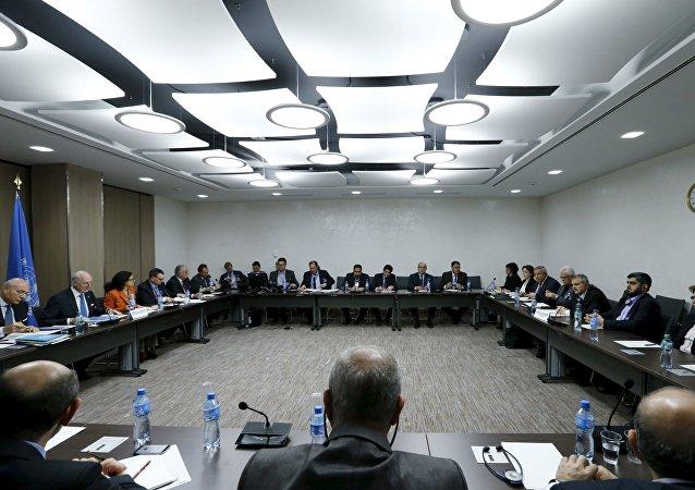 Negociaciones intersirias en Ginebra (archivo)