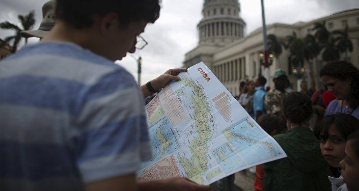 Turista en la Habana