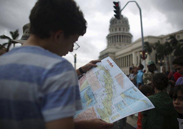 Un turista en La Habana, Cuba