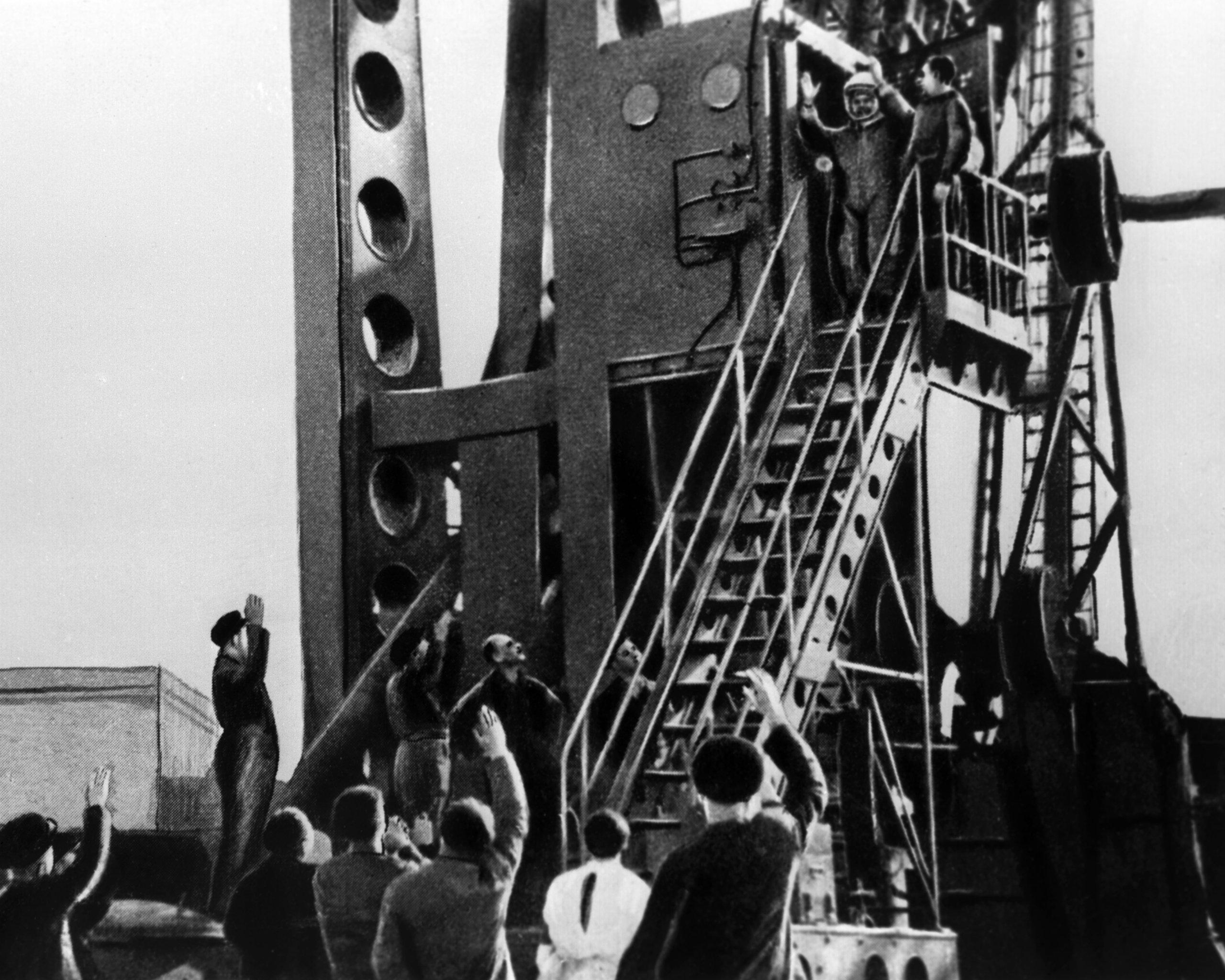 Los últimos minutos antes del lanzamiento de la nave Vostok-1