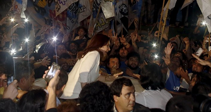 Cristina Fernández de Kirchner, exmandataria argentina