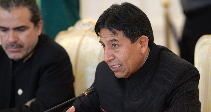 David Choquehuanca, exministro de Exteriores de Bolivia
