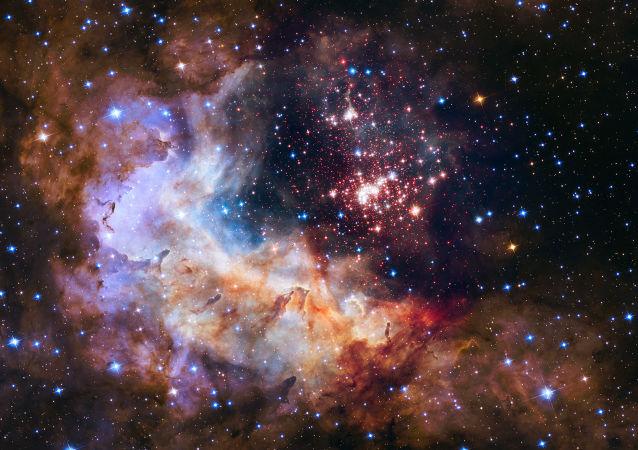 El espacio (foto hecha con el telescopio Hubble)