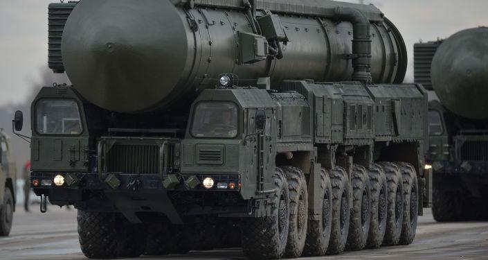 Sistema de misiles balísticos Yars (archivo)