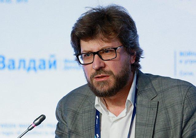 Fiódor Lukiánov, director del Club Valdái