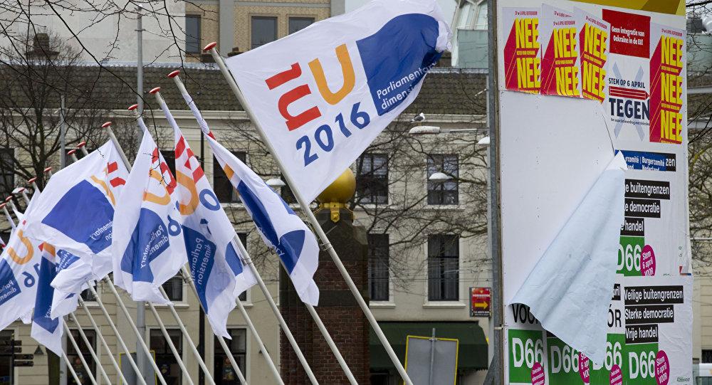 Referéndum sobre la asociación entre Ucrania y la UE en los Países Bajos
