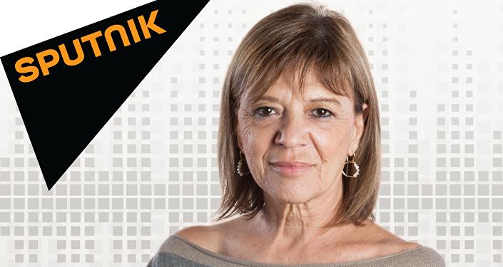 Telma Luzzani, autora del nuevo programa de Sputnik Mundo