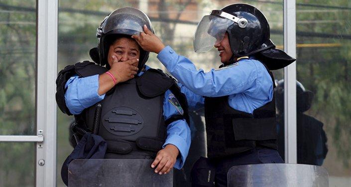 Policías de Honduras