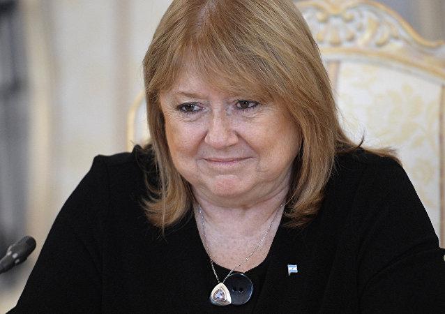 Susana Malcorra, ministra de Exteriores de Argentina