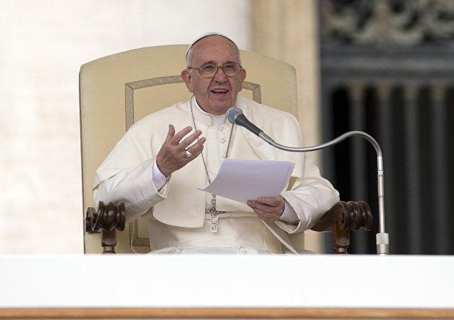 El discurso de Papá Francisco en Vaticano 13 de abril