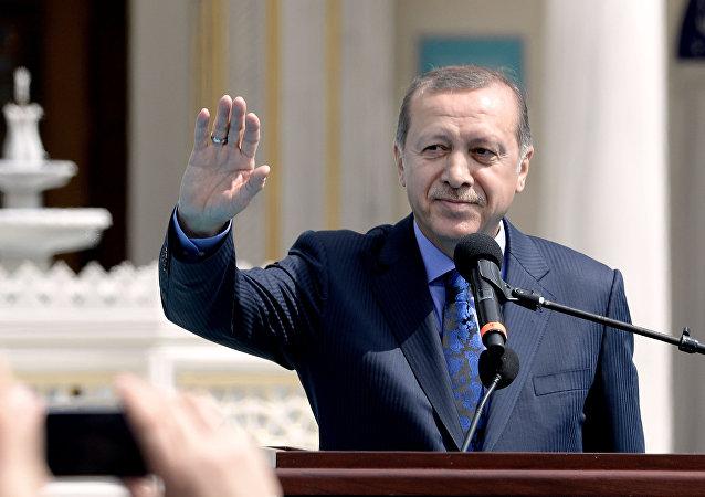 Recep Tayyip Erdogan. presidente de Turquía