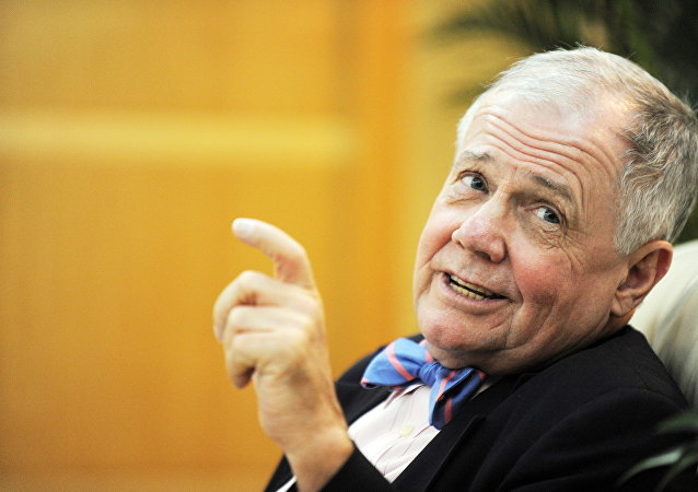 El analista financiero Jim Rogers (archivo)