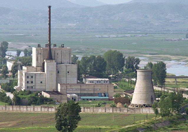 Centro nuclear de Yongbyon en Corea del Norte