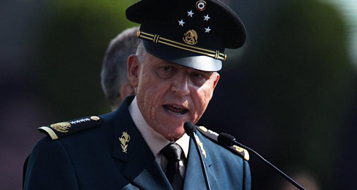 Salvador Cienfuegos, secretario de la Defensa de México