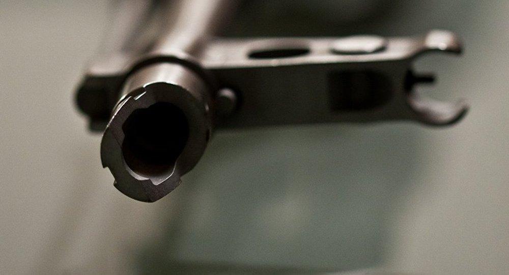 Un fusil Kalashnikov