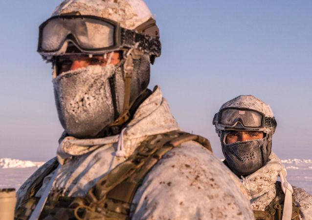 Las Fuerzas Especiales chechenas en el Polo Norte