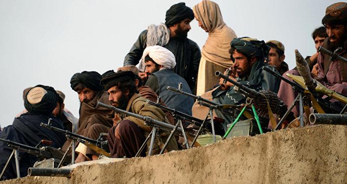 Los integrantes de Talibán en Bakwah, en la provincia de Fatah