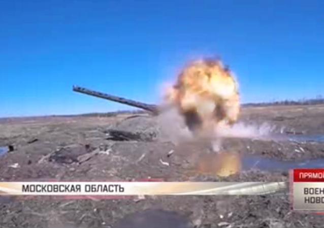 Duelo militar: Tanques contra lanzagranadas