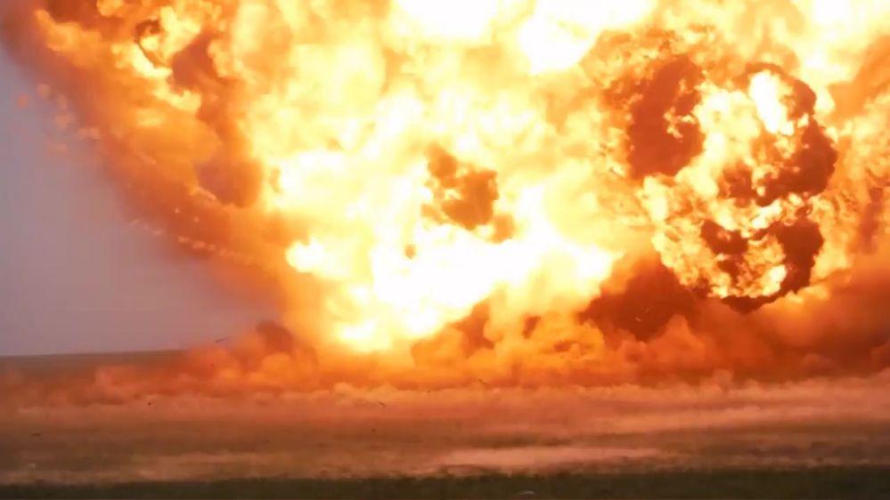 El complejo de misiles ruso Iskander-M abate su blanco