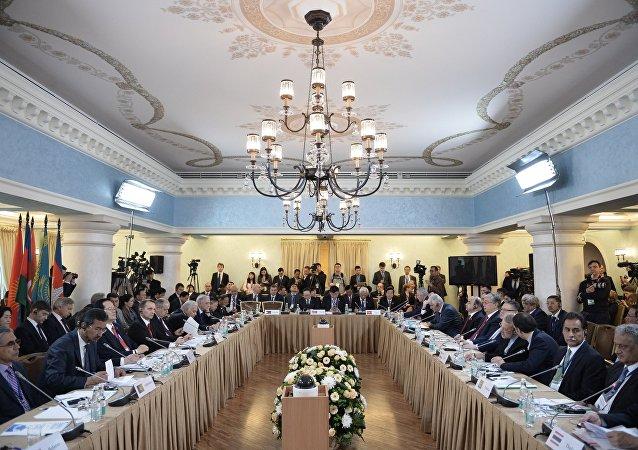 Sesión de los presidentes de los Parlamentos de Estados de Eurasia