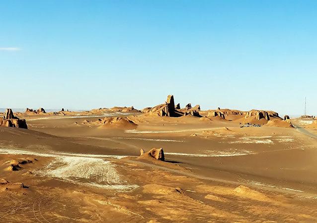 El desierto de Lut en Irán
