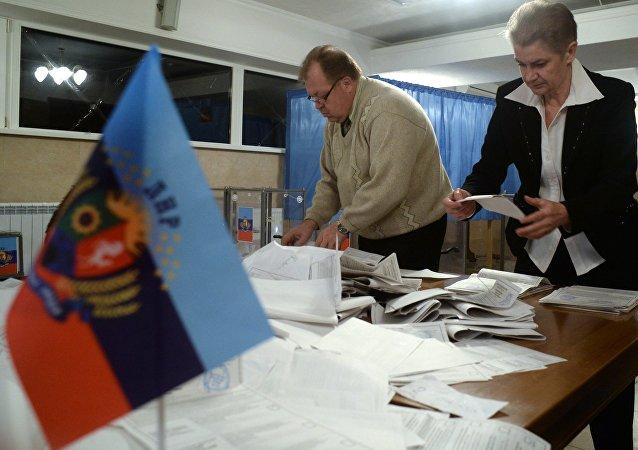 Los comicios en la autoproclamada República Popular de Lugansk (archivo)