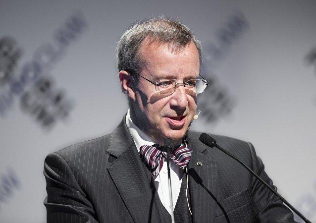 Toomas Hendrik Ilves, el presidente de Estonia