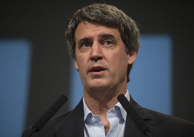 Alfonso Prat-Gay, ministro de Hacienda y Finanzas Públicas
