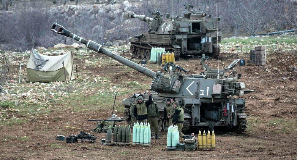 Las fuerzas israelíes en los Altos del Golán (Archivo)